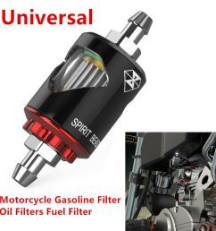 details about universal motorcycle gasoline filter oil filter fuel filter prevent impurities [ 1000 x 1000 Pixel ]