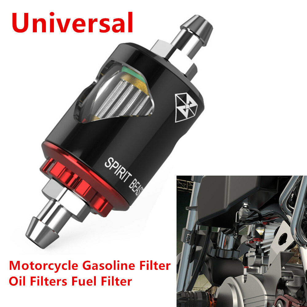 medium resolution of details about universal motorcycle gasoline filter oil filter fuel filter prevent impurities