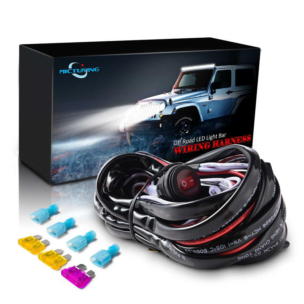 hight resolution of details about 40a relay wiring harness waterproof toggle switch for off road car led light bar