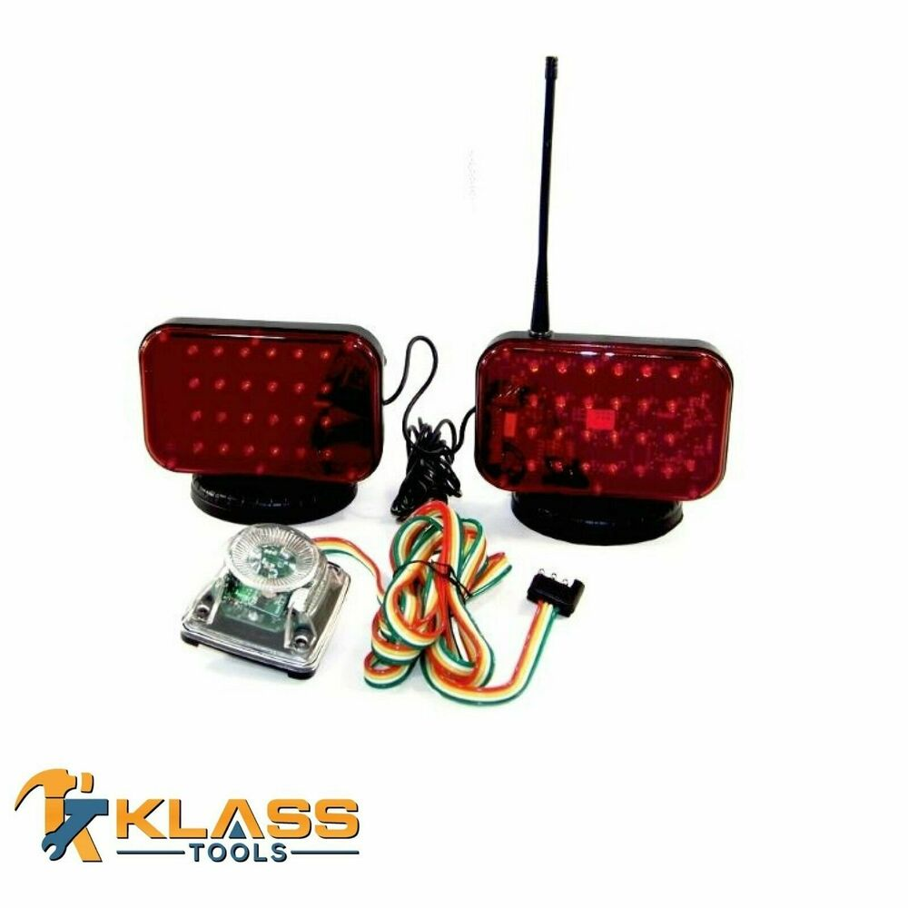 hight resolution of details about wireless tow lights with 48 powerful led lights
