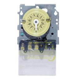 details about intermatic t104m 240 volt swimming pool pump timer mechanism [ 1000 x 1000 Pixel ]