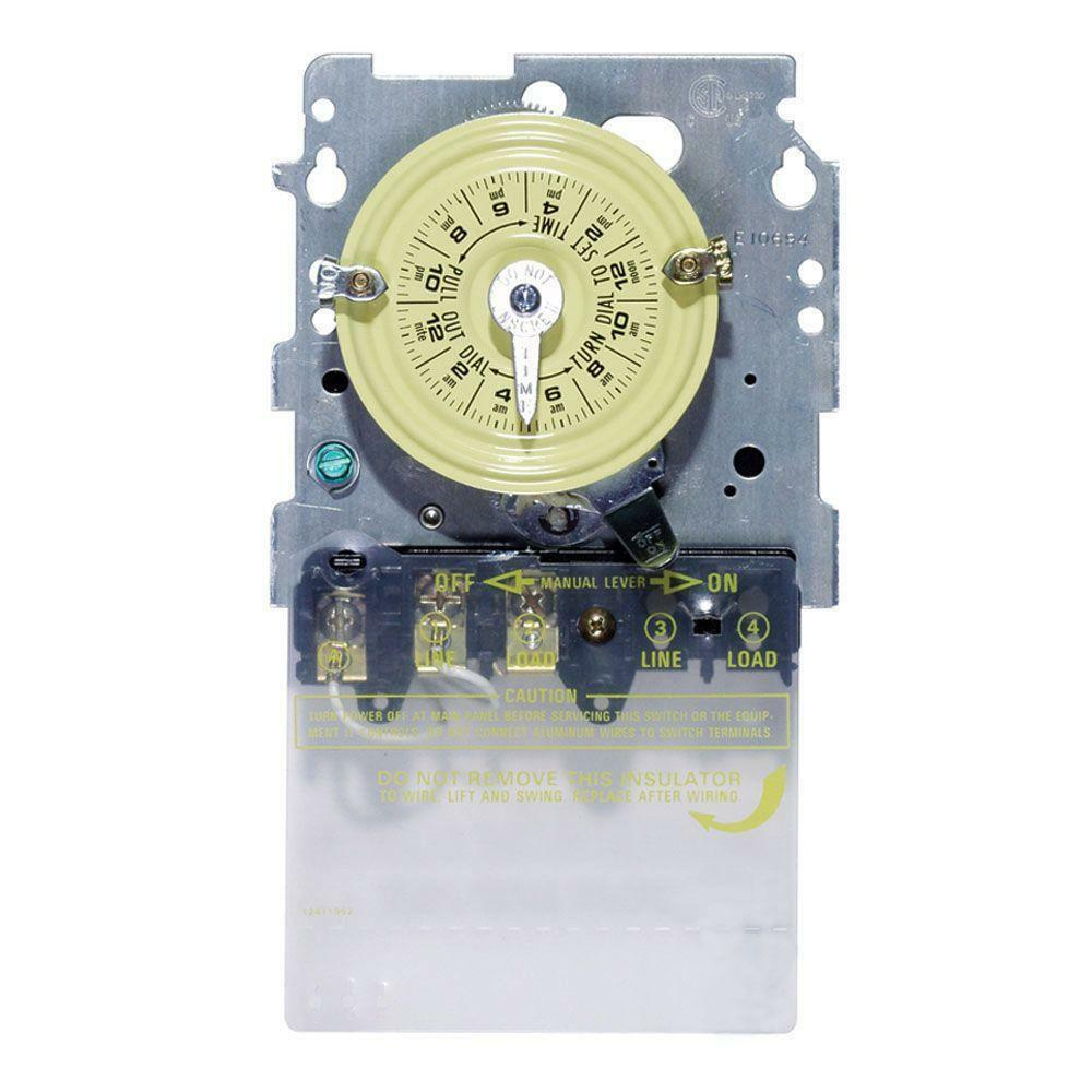 medium resolution of details about intermatic t104m 240 volt swimming pool pump timer mechanism