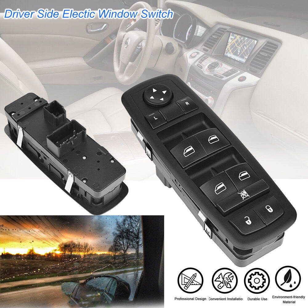 medium resolution of details about 2008 2014 master power window switch dodge grand caravan chrysler jeep 1 touch