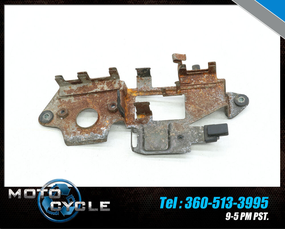 hight resolution of details about 1985 honda cb450 cb 450 electrical mount bracket fuse box rectifier base 85 h4