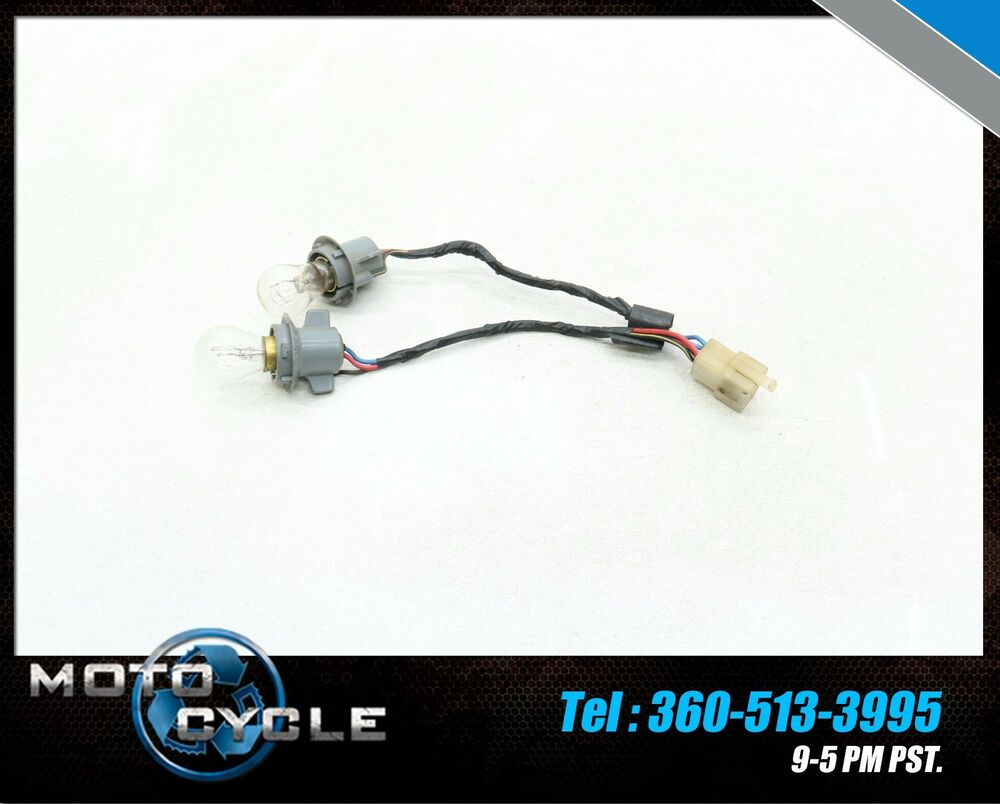 hight resolution of details about 1989 kawasaki ex 500 ninja ex500r 500r taillight bulb wiring harness 89 kp