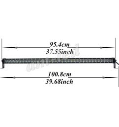 details about 38 inch 216w cree led light bar high output dual row curved led bar wiring kit [ 1000 x 1000 Pixel ]