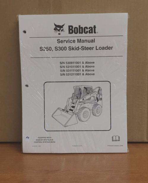 small resolution of details about bobcat s250 s300 skid steer loader complete shop service manual repair 6904158
