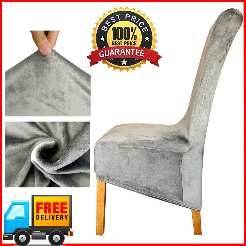 Restaurant High Chair Cover Velvet Fabric Europe Long High Xl King Back Chair Cover Seat Chair Covers Hotel Ebay