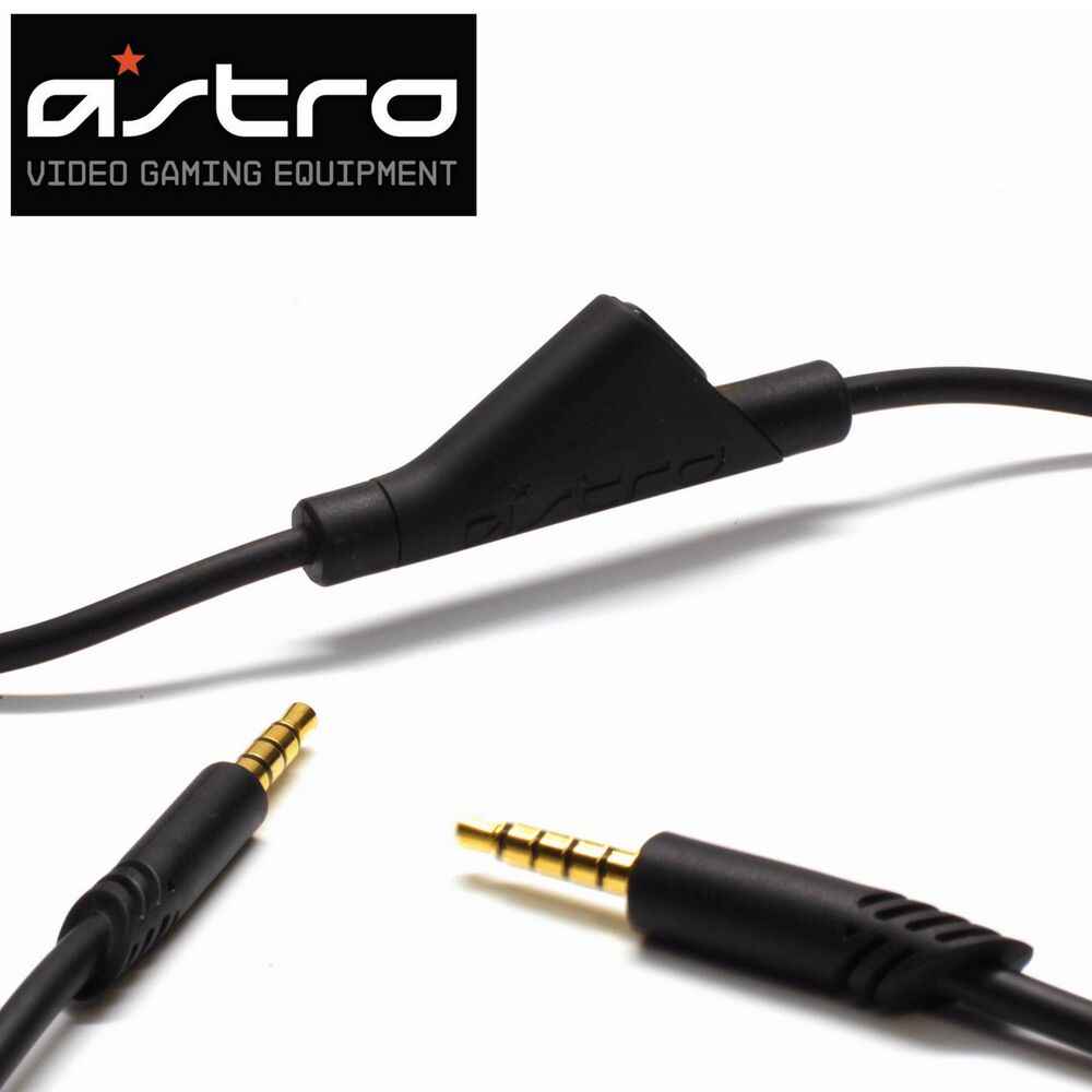 medium resolution of details about new astro a40 tr inline mute switch aux cable for astro gaming a40 headset tr