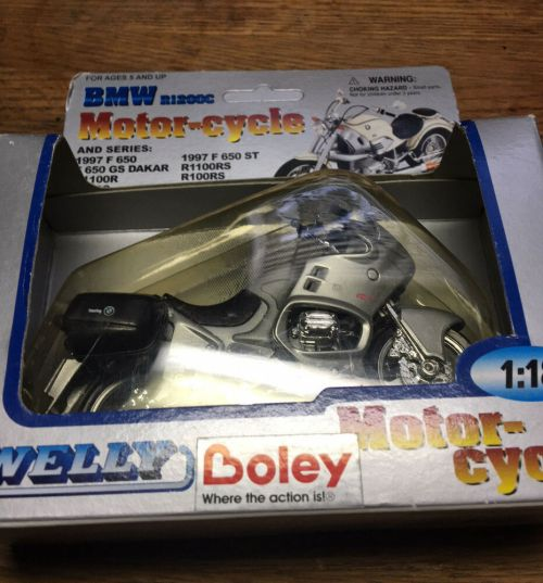 small resolution of details about bmw 1 18 motorcycle 1997 f650 gs dakar silver welly r1200c die cast boxed