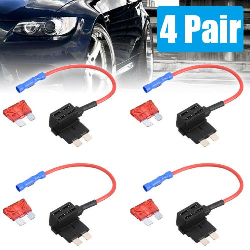 small resolution of details about 4pcs car add a circuit fuse tap adapter standard ato atc auto blade fuse holder