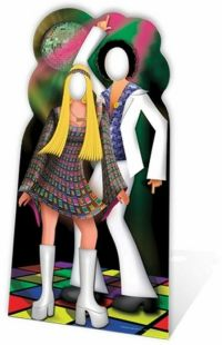 DISCO COUPLE STAND