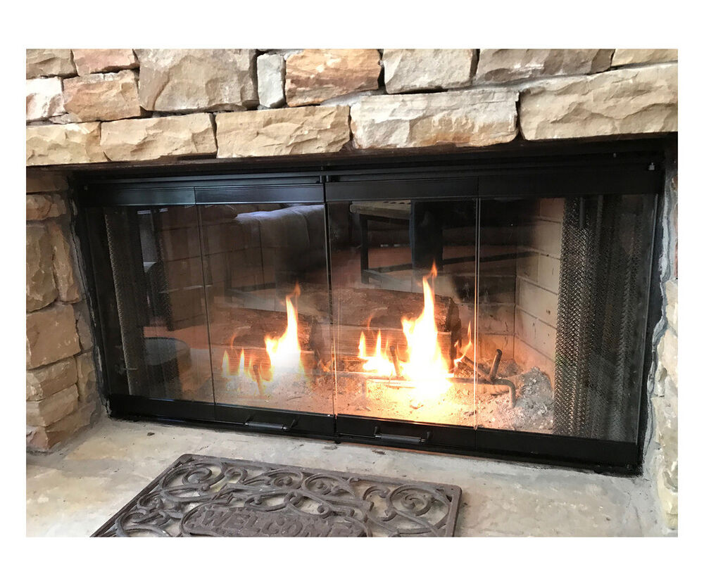 Fireplace Doors For Majestic Fireplaces 36 Set  eBay