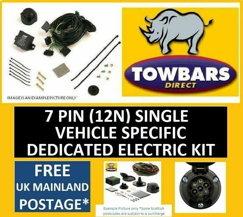 vauxhall vectra towbar wiring diagram 2000 jeep wrangler starter i5 igesetze de 7 pin kit astra h estate 04 10 with rec only rh ebay ie insignia vivaro