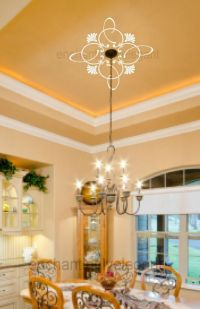 Ceiling Medalion Ornaments Vinyl Decal Stickers Ceiling ...