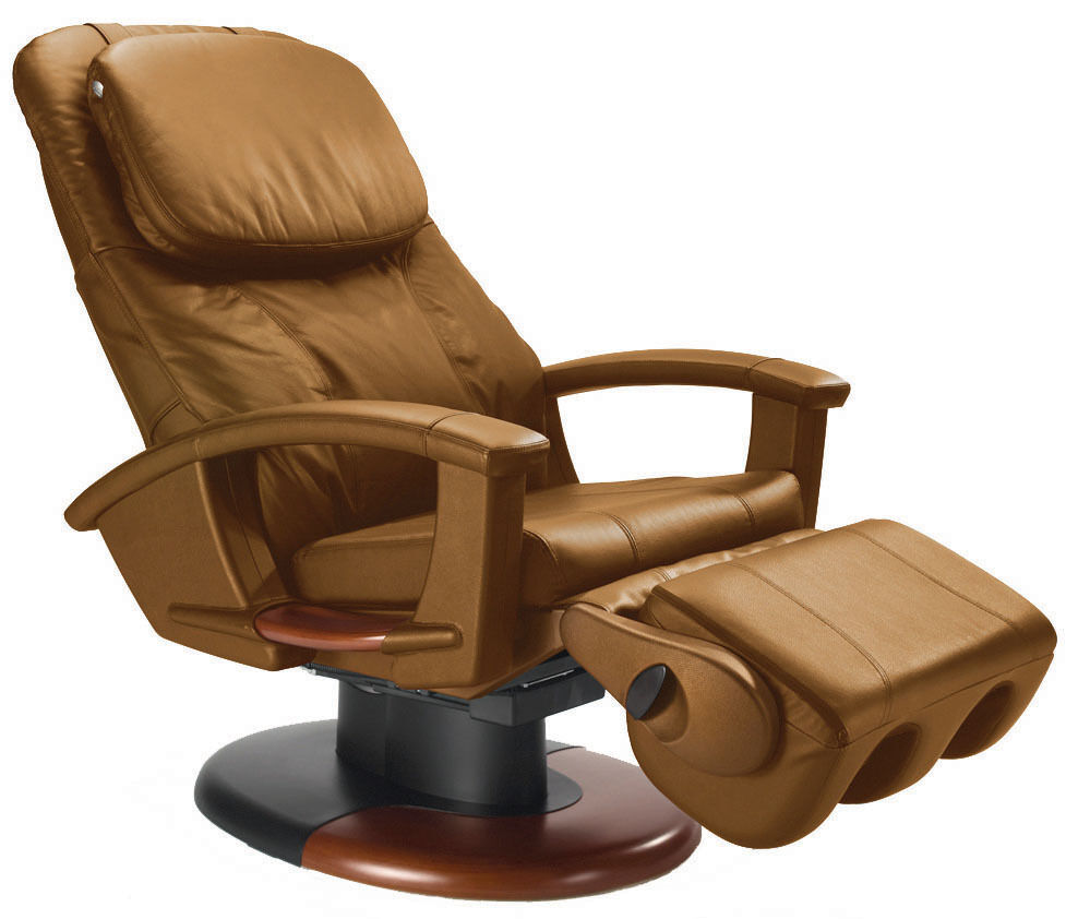 CAPPUCCINO LEATHER HT135 Human Touch Massage Chair Power
