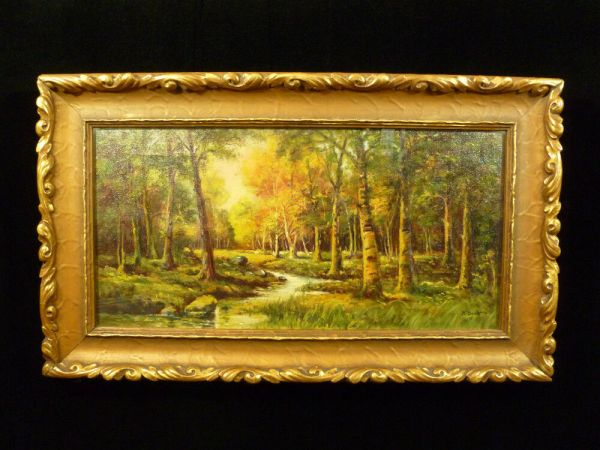 signed original . scott forest