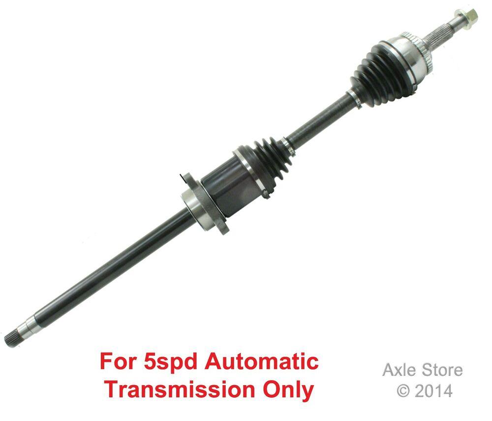 New Front CV Axle Right Side Fits Nissan Maxima with 5spd