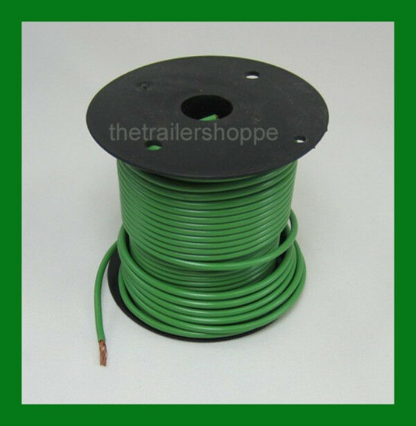 Trailer Light Cable Wiring Harness 100ft Spools 14 Gauge 7 Wire 7