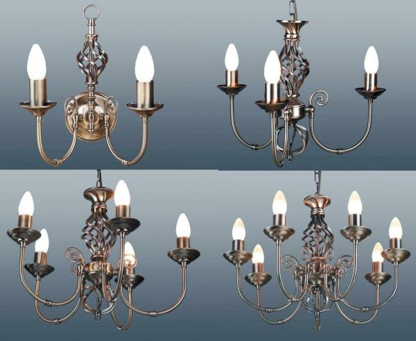 2 Arm Wall 3 5 7 Classic Ceiling Light Pendant