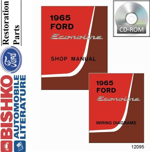 small resolution of details about 1965 ford econoline shop service repair manual cd engine drivetrain electrical