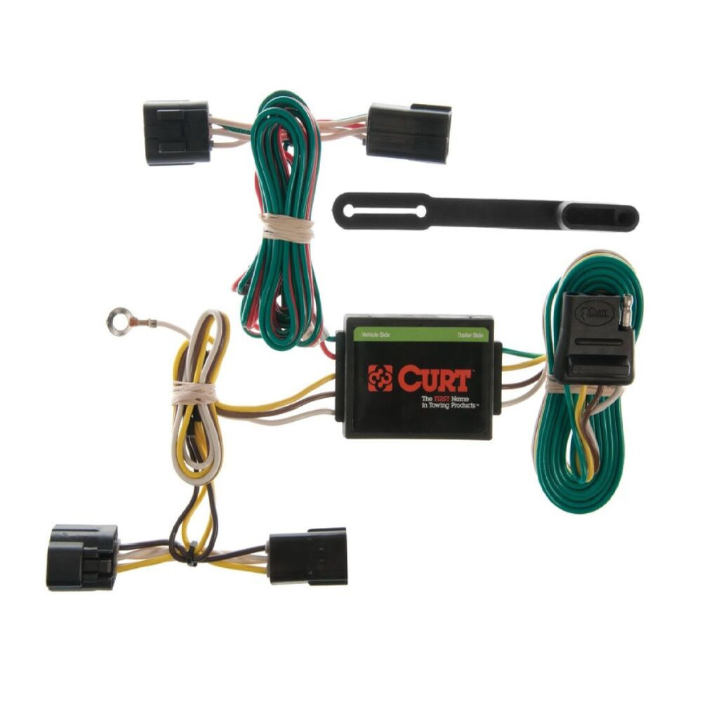 hight resolution of details about curt trailer custom hitch wiring connector 55360 for isuzu amigo rodeo passport