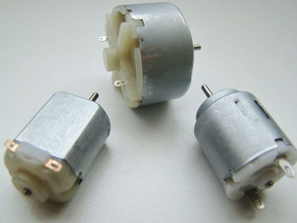 Miniature Small Electric Motor Brushed 15V 12V DC for