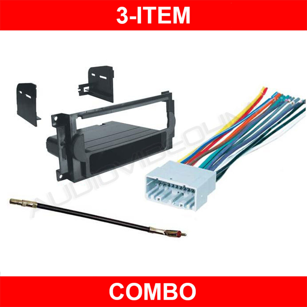 hight resolution of details about 2006 2007 2008 dodge ram pickup radio stereo cd mounting dash kit 06 07 08