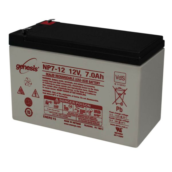 Enersys Genesis 12v 7ah 50cc 125cc 150cc Scooter Moped Gy6 Battery