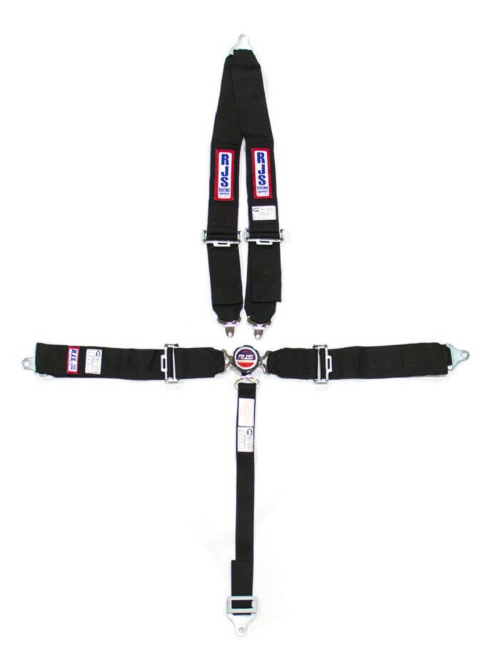 RJS RACING SEAT BELTS HARNESS 5PT CAM LOCK SFI 16.1RATED V