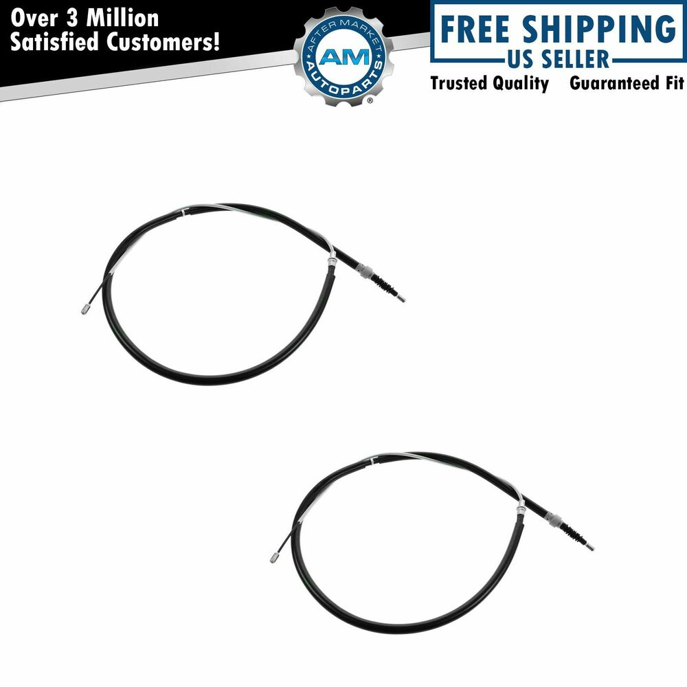 Emergency Parking Brake Cable Left & Right Pair For VW