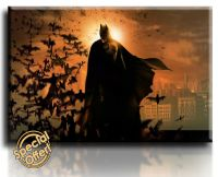 Wall Art Canvas Picture Print of BATMAN Framed Ready to ...