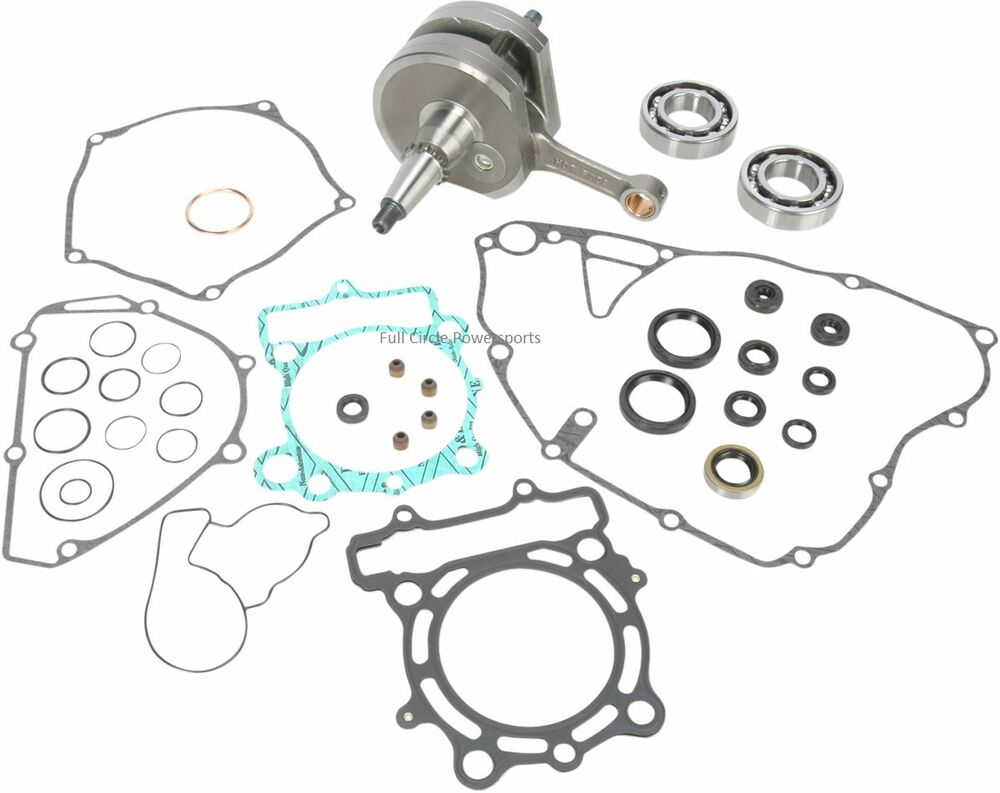 Hot Rods Complete Bottom End Kit KX250F 2011-13 Crank