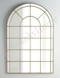 """Neiman Marcus 66"""" PALLADIAN ARCH Wall Mirror Gold HORCHOW ..."""