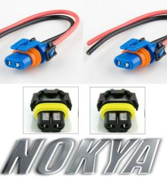 nokya wire harness pigtail female 9006xs hb4a nok9102 head light bulb connector 806890236921 ebay [ 1000 x 833 Pixel ]