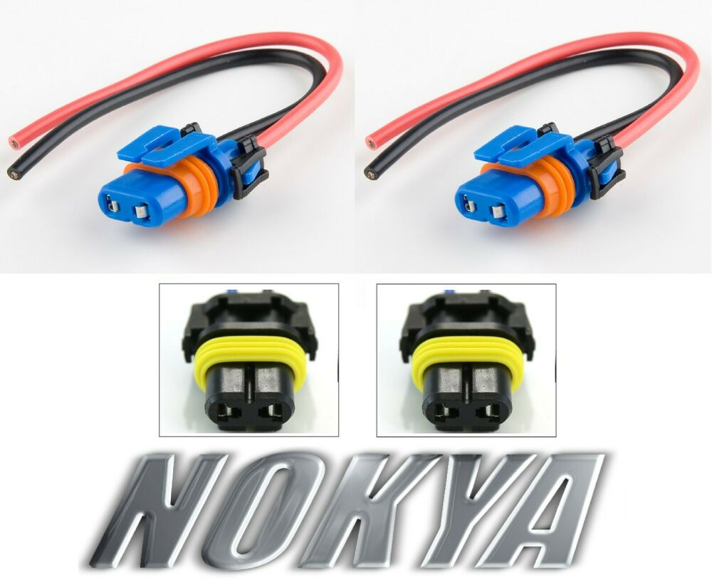 hight resolution of nokya wire harness pigtail female 9006xs hb4a nok9102 head light bulb connector 806890236921 ebay