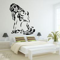 Sexy Girl Woman Lady Large Wall Art Decal Vinyl Sticker | eBay