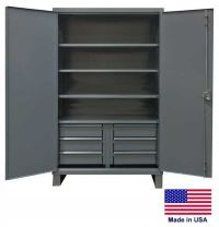 STEEL CABINET Commercial/Industrial - Shelves & Drawers 4 ...