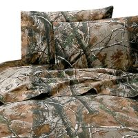 Realtree AP Camo Sheets Camouflage Sheet Set ~ Twin Full ...