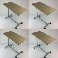 4 x *Defective* Tray Table Bedside Hospital Top Rolling