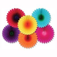 6 LUAU Summer Tropical Party Hanging Decoration MINI ...