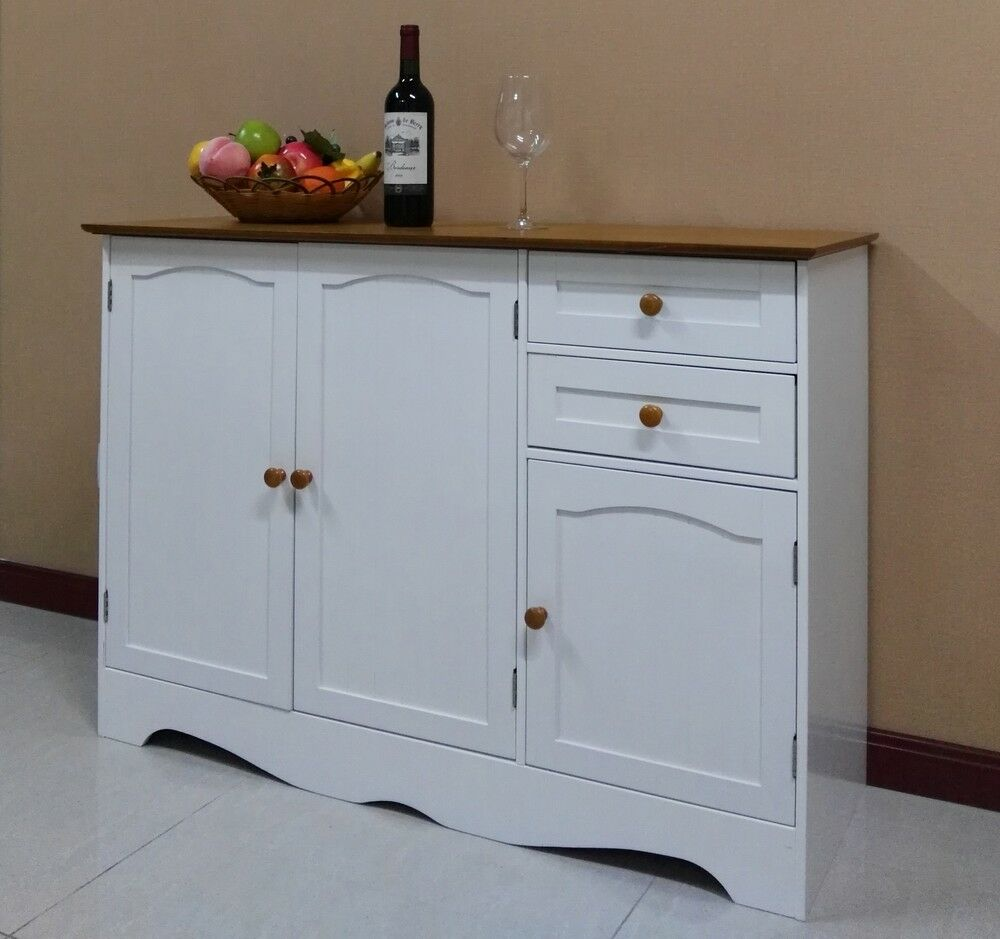 Buffet Sideboard Cabinet Hall Table Kitchen Cupboard