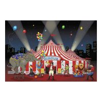 3pc set CARNIVAL Circus Big Top Party Decoration BACKDROP ...