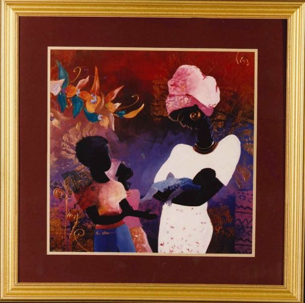 African American Art Prints Black White