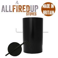 Pipe With Damper Multifuel Vitreous Enamelled Flue Pipe ...