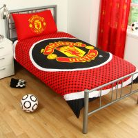Manchester United Man U FC Red Football Reversible Duvet