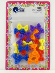 tara girls hinge plastic bow