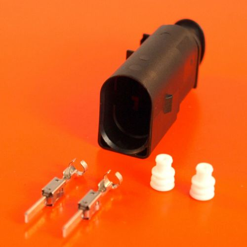 small resolution of vw audi vag 8d0 973 822 2 pin sealed male jpt connector kit 8d0973822 ebay