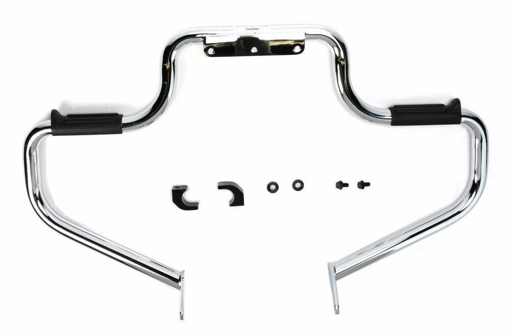 Chrome Lindby Multibar Engine Guard Highway Bar Peg Yamaha