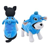 Cartoon Stitch Pet Dog Clothes Halloween Coat Puppy Cat ...